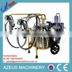 25L Buckets Mobile Cow Milking Machine With Price