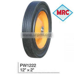 "PW1222 forklift solid rubber wheel 12""X2"" PROMOTION"