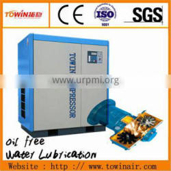 Frequency water-lube oil free screw compressors Environmental TW 250S