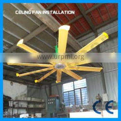 alibaba gold supplier stainless steel big wind any demand hvls ceiling fans
