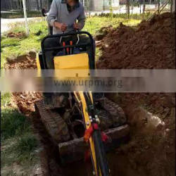 China import widely used 1 ton mini excavator farm mini digger for sale