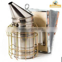 Stainless steel bee smoker made by wuhan manufacture