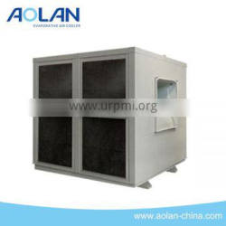 General air conditioner evaporative air cooling system for industrial use