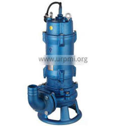 55kw 75hp high flow electric centrifugal non clog submersible pump for sewage water treatment system