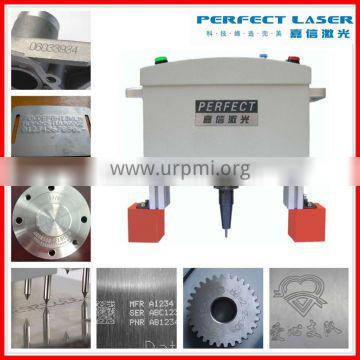 with CE portable dot peen marking system Serial Number Stamping Machine for metal or plastic
