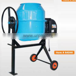 Diesel Power mobile Concrete Mixer 200L with electric motor