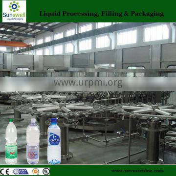 Stainless steel automatic water purifying filling machine