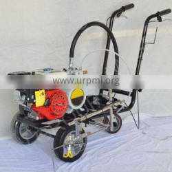 Best quality airless spraying cold painting road line marking machine with gasoline engine