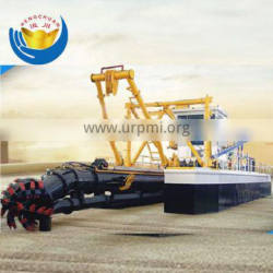 Hot sale best quality hydraulic river sand cutter suction dredger for river sea