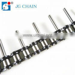 carbon steel 08B china oem manufacturer machine chain roller chain with pins
