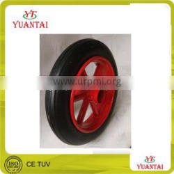 high quality solid rubber wheel barrow tire for wheel barrow 260x85 rubber wheel 300/350/400/450/650
