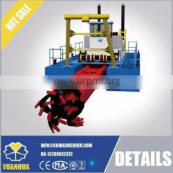 amphibious sand pump dredger for both ship and land 600 to 8000 m3/h capacity