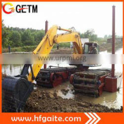 Engineering machinery swamp buggy excavator