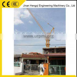 High quility luffing jib tower crane for sale