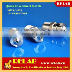 Spraying System SS Flat Jet Cleanable Quick Jet Nozzle