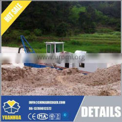 China hydraulic system cutter suction dredger, sand river pump dredger