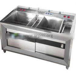 Vegetable Washing Machine Automatic Sprinkling With Sorting
