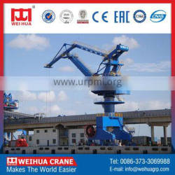 WEIHUA Continuous Working Single jib fixed portal crane, 45t portal crane
