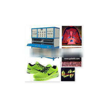 Top quality sport upper shoes cover making machine