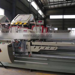 Double head mitre cutting saw machine for aluminum fabrication