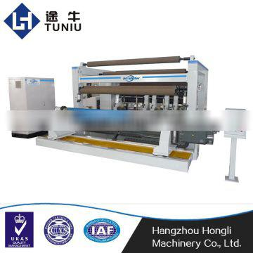 PP plastic film processing machinery laminating film split slitter machine