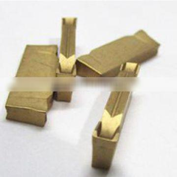 export factory yellow coated tungsten carbide insert ZPED