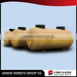 High strength and high capacity steel-fiberglass steel SF Double Oil Tank,fiberglass oil tank