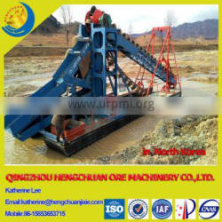 Hengchuan Gold Dredging Ship with High Mineral Concentration Ratio