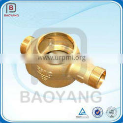 Liaoning OEM Brass Sand Casting And Machining Water Meter Shell