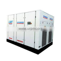 450HP 355kW variable frequency direct driven screw air compressor low electric fee