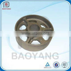 China OEM Cheap Black Antique Industrial Agricultural Heavy Duty Cast Iron wheel