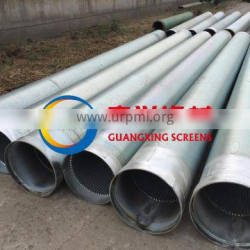 China sand control wedge wire stainless steel filter screen for water