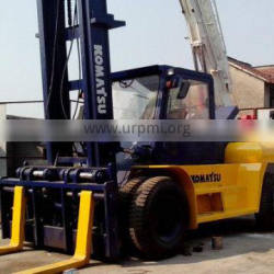 japan made competitive price used komatsu 25t forklift hot sale in china