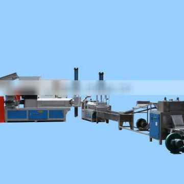 Spain hot sale ABS plastic recycling machine line