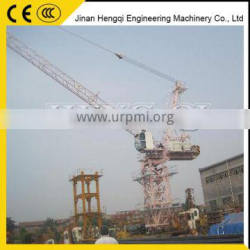 erect tower crane widelly used overseas luffing tower crane