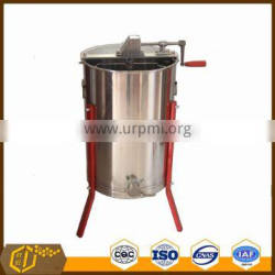 Durable Stainless Steel 4 Frames Manual well used Honey Extractor