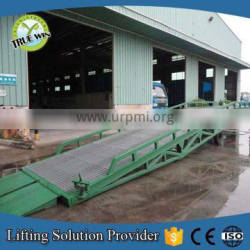 10 Ton Truck Cargo Container Super Mobile Yard Ramp