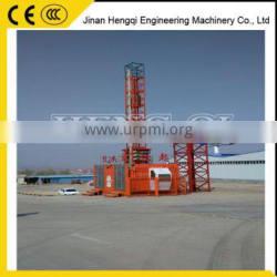 Double cabin professional lifting equipment, building hoist,construction hoist