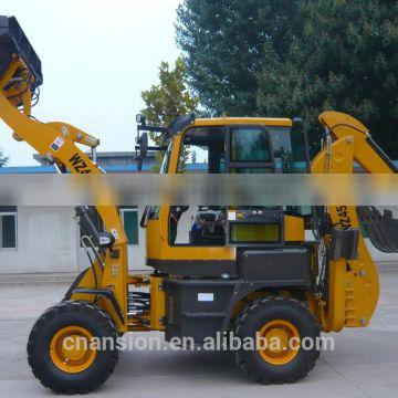 Fast WZ45-16 50HP compact backhoe loader for heavy digging works