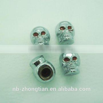 New style tire valve caps with Skull design