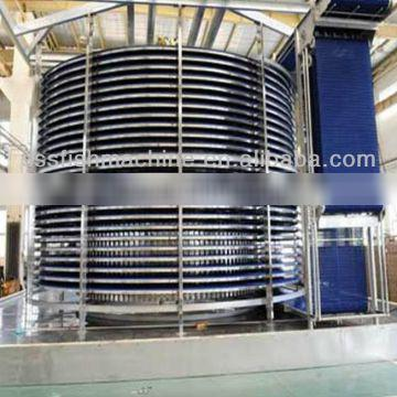 single spiral freezer for pastry china made alibaba.com high capacity low noise export to EU MALAYSIA IRAN TURKEY NIGERIA