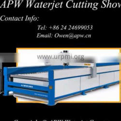 Water Jet Cutting Machine For Stone Glass Cutting With CE Certifications And One Years Warranty In A Good Price