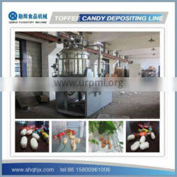 Full Automatic Depositing Type Toffee Candy Machine Production Line