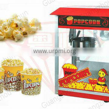 High quality CE certified commercial &industrial 8oz popcorn machine