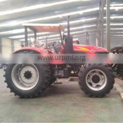 Africa Hot selling DQ1304F 130HP 4WD heavy duty Farm Tractor with Canopy