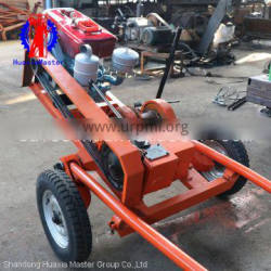 Direct supply from hauxia master prospect drilling rig/sand sampling drill rig/impact drilling machine for sale