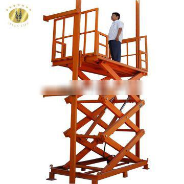 7LSJG Shandong SevenLift 3t diy small portable hydraulic stationary scissor lift