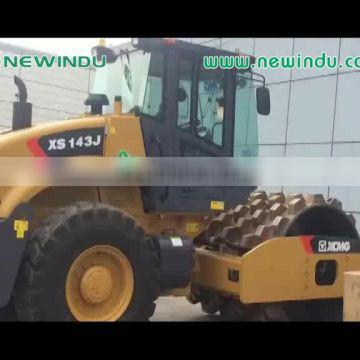 12tons double drum roller XD123 vibratory road roller