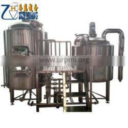 Beer brewing equipment mini brewhouse beer production line 300 litres beer brew tanks