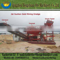 China Designed River Gold Suction Dredge For Sale